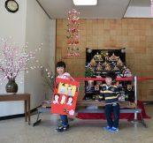 幼児園もひな祭り🌸