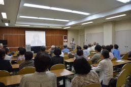寿大学 今日の講義は「食と感染症」