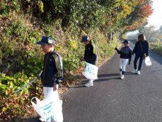 スポーツ少年団 清掃活動 情報提供していただきました。