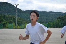 7月の稲津さん 【未来のオリンピック選手】